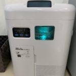 クリスタルエアー(水式イオン発生機) 空気清浄器導入しました